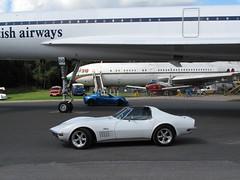 1971 Chevrolet Corvette Stingray (davocano) Tags: brooklands targatop mcw39j
