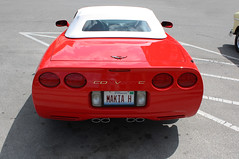 2004 Chevrolet Corvette Convertible (3 of 3) (myoldpostcards) Tags: auto cars chevrolet 2004 car illinois automobile gm tail convertible il chevy lincoln autos corvette 5th generation carshow vette taillights tailli