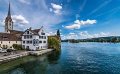 Stein am Rhein (FriFro76) Tags: lake schweiz switzerland bodensee rhine rhein stein constance inseln