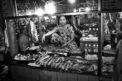 Vinh Long Meat Market (gecko47) Tags: bw shop market stall meat vietnam butcher vendor tonality vinhlong