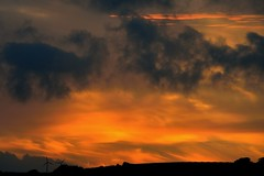 AUG_1430 (14) (Roy Curtis, Cornwall) Tags: uk sunset sky colour silhouette cornwall falmouth penryn
