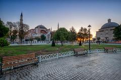 Hagia Sofia (Perry McKenna) Tags: church museum turkey istanbul mosque hagiasofia withintheframe