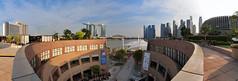 Panorama @ The Esplanade (Market Uncle) Tags: panorama marina bay esplanade