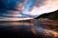 Coble Landing, Filey. (m A R K ∞) Tags: sunset sea sky september northyorkshire filey 2014 fileybrigg coblelanding ©markharrowsmith