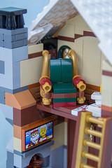 10245 Santa's Workshop, part 2, details (vynsane) Tags: lego review creator preview expert tnb santasworkshop wintervillage 10245 toysnbricks