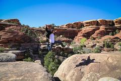 Jumper (Neo - nimajus) Tags: park trip travel usa america fun utah nationalpark ut unitedstates canyon adventure crosscountry national journey canyonlands motorcycle moab traveler