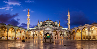 Blue | Blue Mosque, Istanbul, Turkey