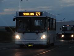 Libertybus 411 (Coco the Jerzee Busman) Tags: uk bus liberty islands coach nimbus ct jersey plus dennis dart channel caetano