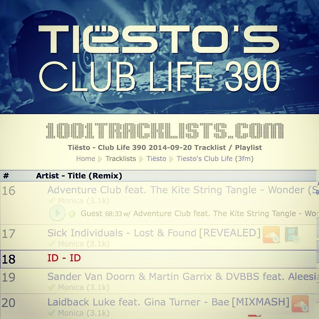 Check out this ID-ID on #Tiesto #ClubLife 390, I'd say this is my upcoming track ;) http://bit.ly/1vpzG1f