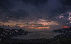 Let it rain (Vagelis Pikoulas) Tags: color colour water glass colors car rain night canon drops kiss day colours afternoon september greece porto raining x4 18mm 2014 germeno