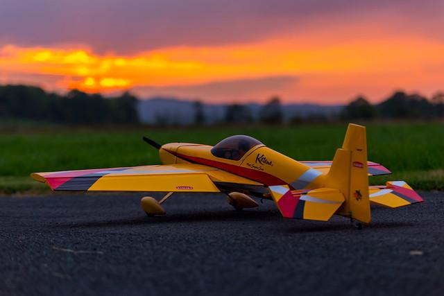 Old faithful (H9 Katana 50) with the sunset.