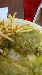 Green Chile Burger at Genaro's (sneakymoose) Tags: newmexico burger gallup greenchile genaros