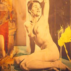Can't Trust My Heart (Thomas Hawk) Tags: sanfrancisco california usa museum painting unitedstates unitedstatesofamerica sfmoma soma robertrauschenberg rauschenberg sanfranciscomuseumofmodernart
