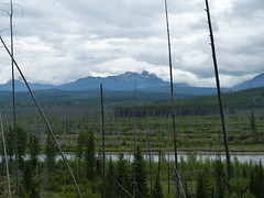 Glacier National Park (aishe's photography) Tags: park sky usa america montana cloudy himmel glacier national amerika wolkig