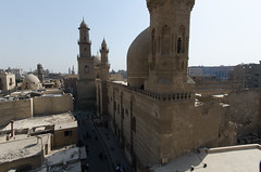 View down Muizz Street