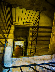 Mercer-steps-1 (bgdesign2016) Tags: stairs spiral railing