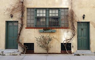 Side by side:  Washington Mews, Greenwich Village, New York