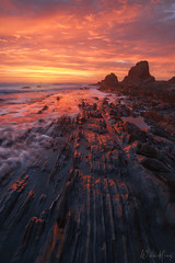 Library of Ages (Willie Huang Photo) Tags: coast california sunset sanmateo santacruz pescaderobeach pescadero hwy1 landscape nature scenic ridges waves ocean pacific seascape