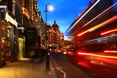 Harrods at night (marpav17) Tags: night bokeh london harrods