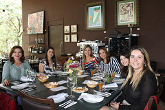 Almoço de comemoração pelo Dia Internacional da Mulher - 11/03/2017