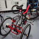 Conversão de bicicleta em triciclo