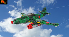 Nakajima Ki-201 Karyu (Eínon) Tags: lego me262 messerschmitt nakajima japan ki201 karyu fighter bomber interceptor