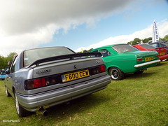 RS (BenGPhotos) Tags: hot green ford grey crystal 1988 fast palace sierra hatch saloon rs 1973 escort rs2000 motorsport sapphire cosworth 2014 mk1 mki vuc478m f600cew