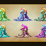 "slime girl variants <a style=""margin-left:10px; font-size:0.8em;"" href=""http://www.flickr.com/photos/95448010@N08/14368238529/"" target=""_blank"">@flickr</a>"