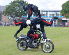 The White Helmets Display Team at Preston Military Show - 13 (Tony Worrall Foto) Tags: show uk camp england people bike out army fight war day place ride arms northwest candid military  north location tony event soldiers preston leisure motor barracks showoff forces riders fought gather lancs 2014 fulwood worrall whitehelmetsdisplayteam prestonmilitaryshow 2014tonyworrall