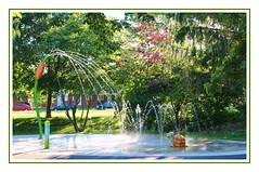 Water Fountains, Park, Turtle (bigbrowneyez) Tags: park trees light wet fountain beautiful grass fun shadows dof play turtle fabulous refreshing fontana playful exciting delightful entertaining waterfountains acua waterfountainsparkturtle