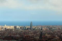 Barcelona (Albert T M) Tags: barcelona catalonia catalunya torreagbar barcelones barcelonès catalogne turódelarovira barcelonaciutat turodelarovira