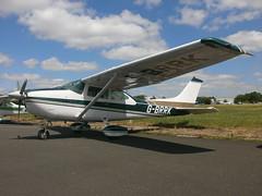 G-BRRK Cessna Skylane 182Q (Aircaft @ Gloucestershire Airport By James) Tags: james airport gloucestershire cessna lloyds skylane 182q egbj gbrrk
