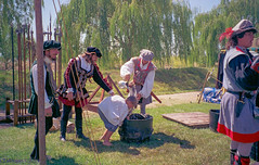 20140621 018.jpg (ctmorgan) Tags: court stocks gaol drubbing pillory assize concannonrenaissancefaire