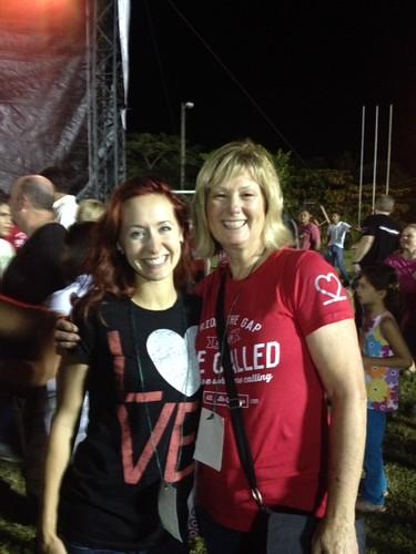 Cheryl in Honduras with Lauren