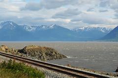 AK_railroad_01 (chiang_benjamin) Tags: railroad mountains water alaska train arm scenic ak chanel turnagain