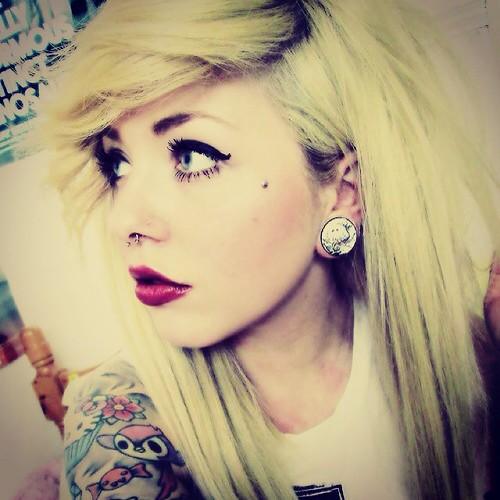nude tattoo emo teen