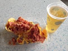 Bourbon bacon nachos & beer (Navin75) Tags: beer bacon baseball bluegrass lexington kentucky minor bourbon ballpark league nachos minorleagues whitakerbankballpark bourbonbaconnachos whitakerbank