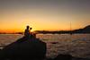Let the sun on my shoulder shine – Vancouver Honda Celebration of Light 2014 (janusz l) Tags: ocean light sunset usa sun beach silhouette vancouver honda shine celebration kitsilano cameo shoulder let 2014 janusz leszczynski 202636 07272014