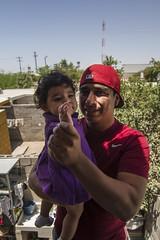 Aretes and Rebecca (caravantothecup) Tags: mexico babies feria fair toros michelada guaymas hermosillo dogos dogosdeuni