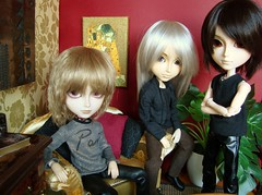 Darkness lovers (Lunalila1) Tags: adam london hotel outfit doll track handmade lucca chips lovers yuki wig groove suite limited fh rei kuro vi spoiler urasawa arion natsume garo tratos taeyang suzumura