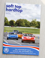 Cover shot (PGDesigns.co.uk) Tags: club magazine shot top hard cover mx5 owners sotf stht