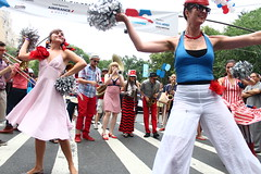 Just The Girls (agent j loves nyc) Tags: nyc newyorkcity band marchingband bastilleday hmb 2014 hungrymarchband quatorzejuillet bastilledaynyc 2014bastilleday fiafbastille