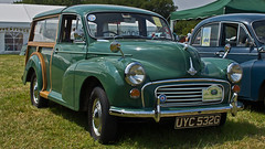 MORRIS MINOR TRAVLLER UYC 532G (JOHN BRACE) Tags: show 1969 country steam traveller morris ringmer uyc 532g