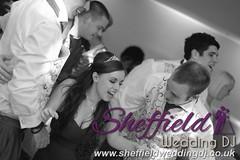 Andrew & Lauren McCambridge - Hellaby Hall - Black & White  Wedding Photos by Sheffield Wedding DJ 082