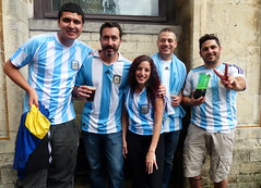 Argentinians in Brussels, three hours before the World Cup final (e) Tags: brussels portrait man argentina smile lady female germany deutschland championship belgium belgique grandplace fifa soccer femme group belgi posing bruxelles final portraiture sonrisa fans finale dame futbol brussel fille sourire lach supporters voetbal grotemarkt weltmeister bxl sorria argentini