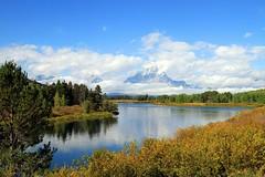 GTNP MOUNT MORAN 090413 (mile27) Tags: snakeriver wyoming mountmoran grandtetonnationalpark oxbowbend