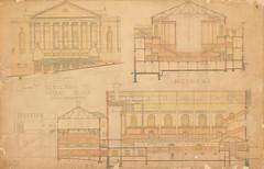 Dunedin Town Hall plan 1927 (Dunedin City Council Archives) Tags: construction plan historic municipal
