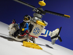 8640: Polar Copter [wip] (delta.triangle) Tags: building berlin lego aircraft bricks arctic helicopter creation technic built hubschrauber moc whirlybird gyrocopter helikopter arranhearn numodenet