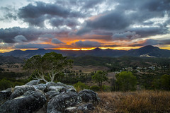 Glow on the mountains (g0rsty) Tags: sky clouds sunrise landscape cloudy country sunsetsandsunrisesgold cloudsstormssunsetssunrises
