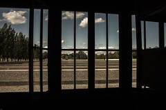 View from the baracke (Marco_G.) Tags: old camp germany inmemory concentration konzentrationslager rip nazi memory jews dachau